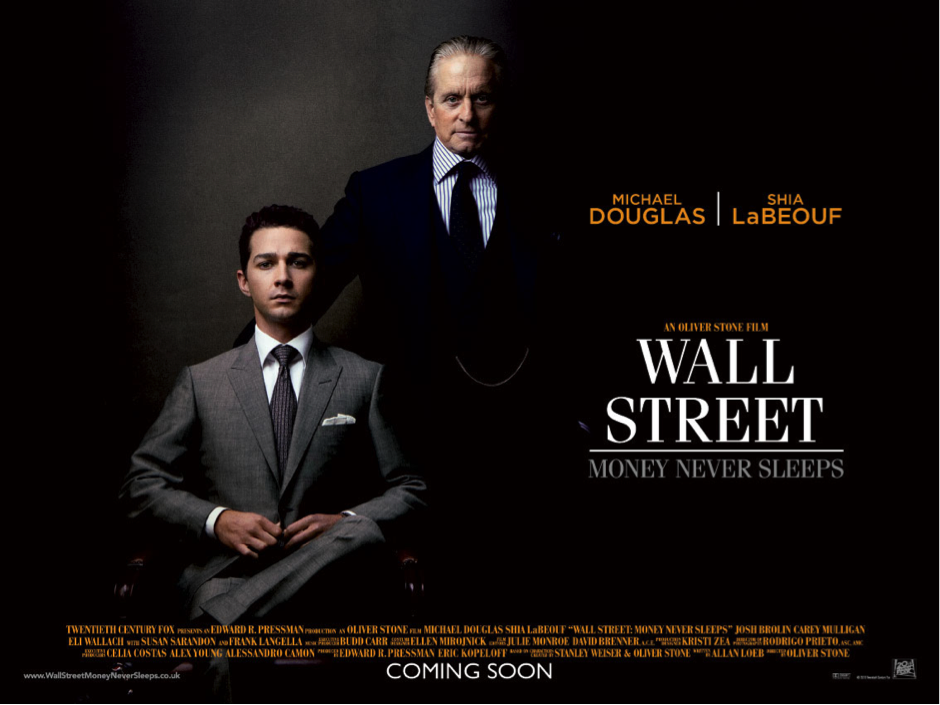 wall street: money never sleeps essay The movie money never sleeps, also known as the wall street 2, is an american drama directed by oliver stone in 2010 it is a very successful business movie of the century on, is the classic film, and i think it is a really good.